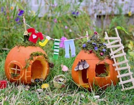 domiki Осенние поделки из тыквы своими руками: 12 красивых и оригинальных поделок из тыквы для детского сада и школы
