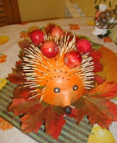 eggiki Осенние поделки из тыквы своими руками: 12 красивых и оригинальных поделок из тыквы для детского сада и школы
