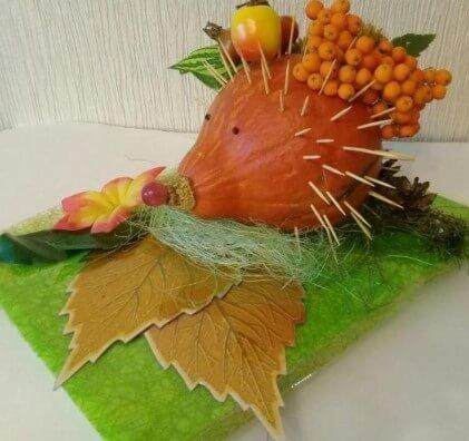 egik-1 Осенние поделки из тыквы своими руками: 12 красивых и оригинальных поделок из тыквы для детского сада и школы