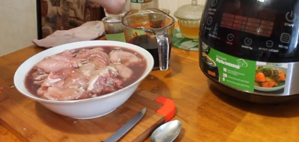 Тушеный кролик в мультиварке с луком и морковью - рецепт пошаговый с фото