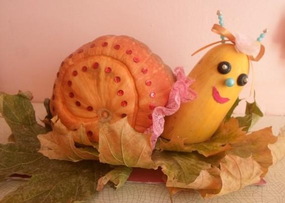 ulit Осенние поделки из тыквы своими руками: 12 красивых и оригинальных поделок из тыквы для детского сада и школы