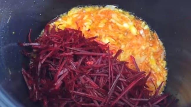 Простой Рецепт борща из квашеной свеклы пошагово с фото