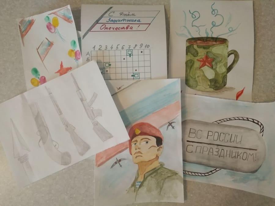 Рисунки на 23 февраля: что нарисовать на День Защитника Отечества